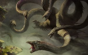 Hydra Monster by Velinov on DeviantArt.