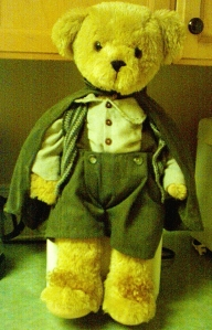 A teddy bear I made for Sean Astin. It had a little pack and everything.